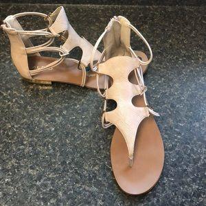 Aldo gladiator sandals size 10